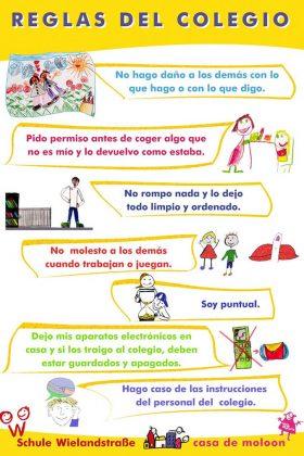 Reglas del colegio